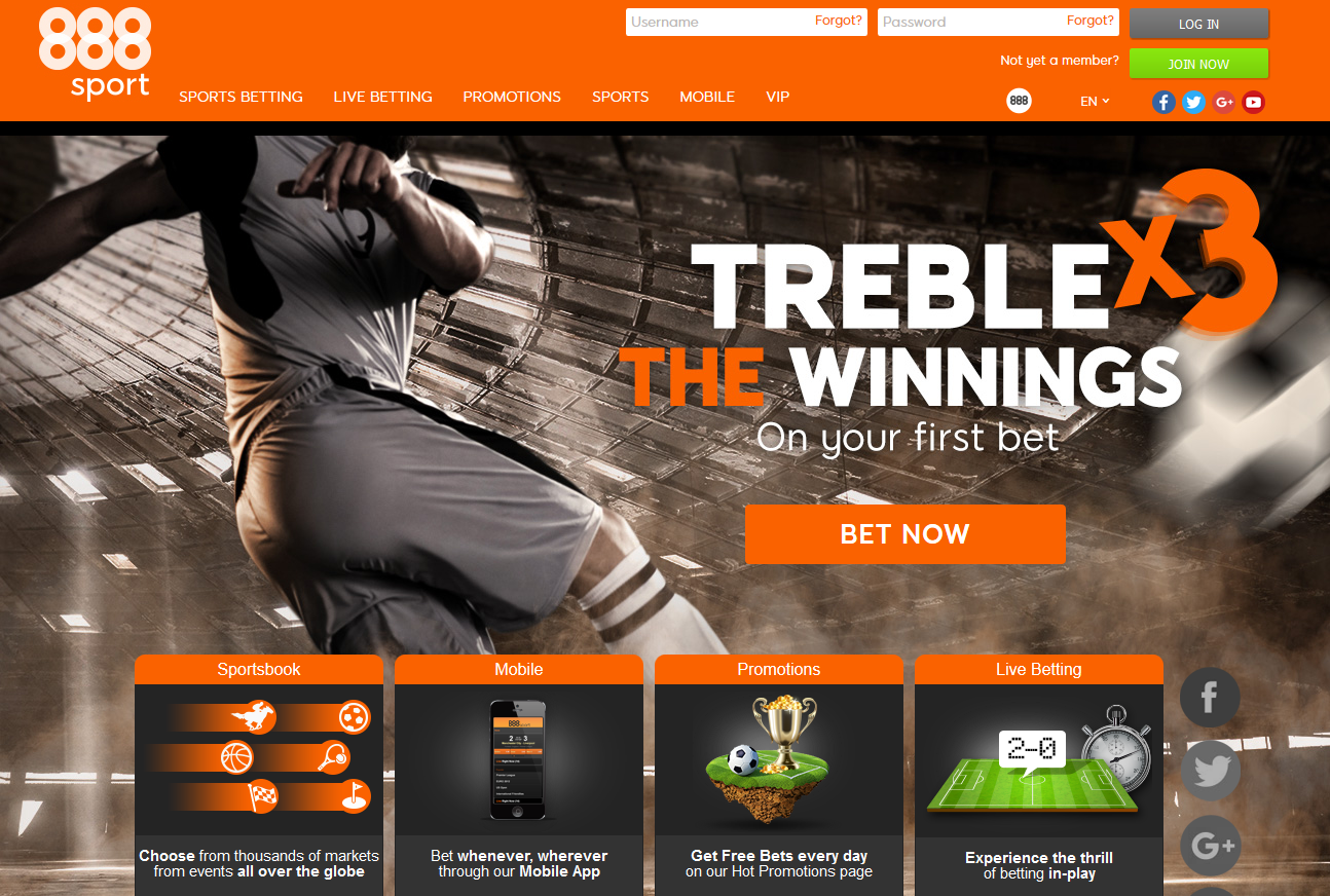 888sport internet betting
